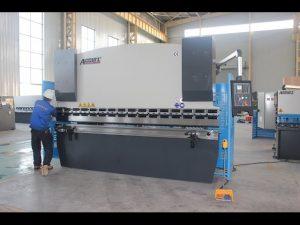 Giętarka do blachy 125T 6mm, prasa krawędziowa hydrauliczna WC67Y-125T 3200 do Chin