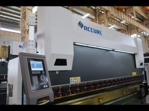 4-osiowa maszyna CNC do prasy krawędziowej 175 ton x 4000 mm ukoronowania z napędem CNC
