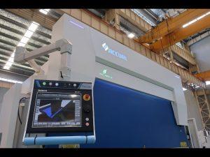 8-osiowy hydrauliczny hamulec hydrauliczny 110 ton 3200 mm