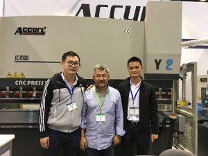 Accurl uczestniczył w targach w Chicago i targach Industrial Automation w 2016 roku