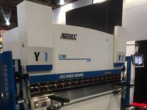 Accurl uczestniczył w wystawie maszyn w Las Vegas w Stanach Zjednoczonych w 2016 roku