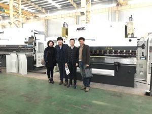 Koreańscy klienci odwiedzają naszą fabrykę