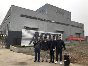 Klienci z Rosji odwiedzają podwójną linkownicę w naszej fabryce