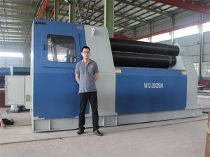 Klienci z Tajlandii kupują maszynę do walcowania W12 firmy Accurl