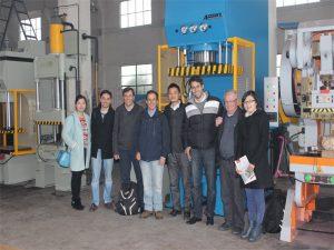 Delegacja Peru przyjechała odwiedzić naszą fabrykę i kupić maszyny