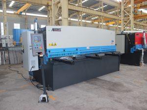 QC12Y maszyna do cięcia blachy hydraulicznej z odchylaną blachą