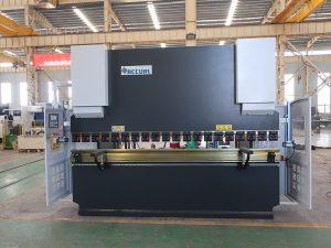 Giętarka do płyt Wc67y 100t 3200 CNC prasa hydrauliczna ze stali nierdzewnej